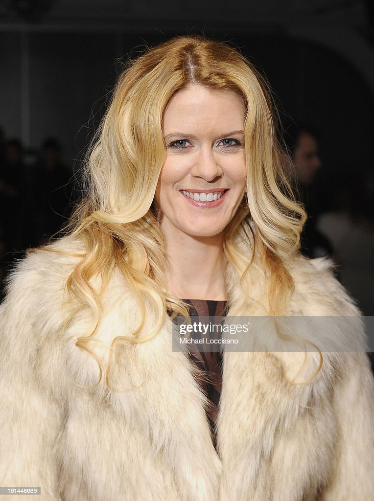 TV Personality Alex McCord attends the Malan Breton fall 2013 fashion show during Mercedes-Benz Fashion Week at Pier 59 on February 10, 2013 in New York City.