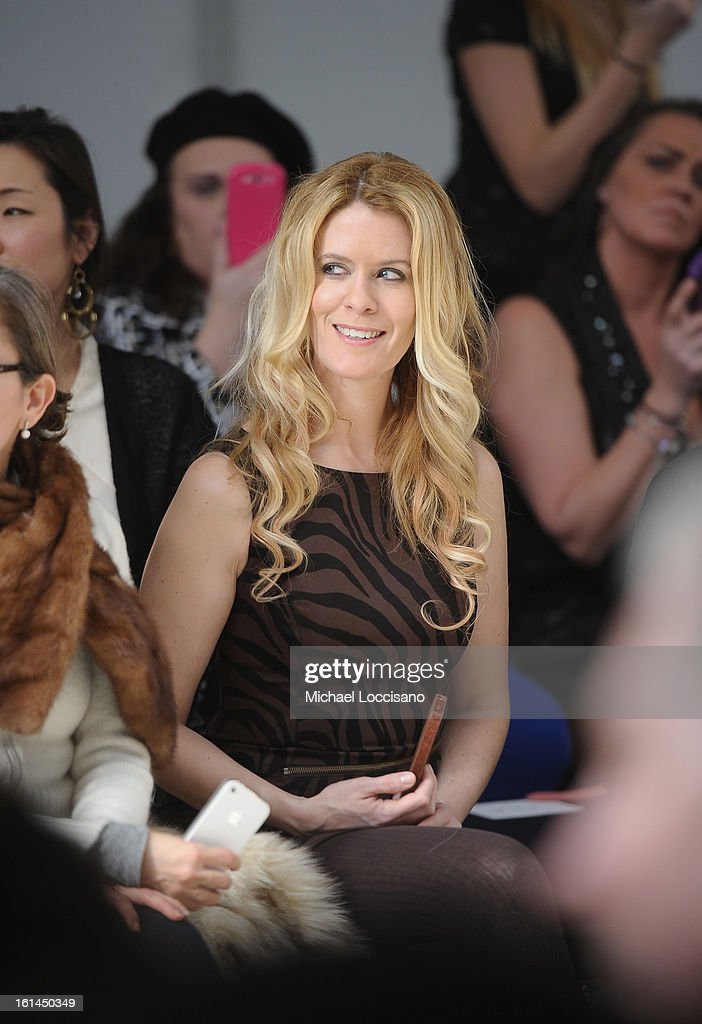 TV Personality <a gi-track='captionPersonalityLinkClicked' href=/galleries/search?phrase=Alex+McCord&family=editorial&specificpeople=4697416 ng-click='$event.stopPropagation()'>Alex McCord</a> attends the Malan Breton fall 2013 fashion show during Mercedes-Benz Fashion Week at Pier 59 on February 10, 2013 in New York City.