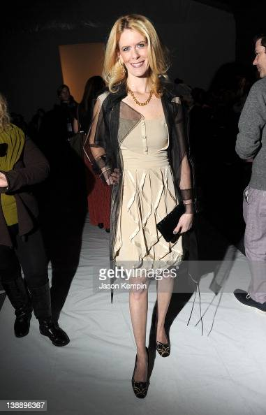 TV personality Alex McCord attends the Zang Toi Fall 2012 fashion show during MercedesBenz Fashion Week at The Studio at Lincoln Center on February...