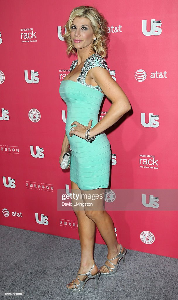 TV personality Alexis Bellino attends Us Weekly's Annual Hot Hollywood Style Issue event at the Emerson Theatre on April 18, 2013 in Hollywood, California.