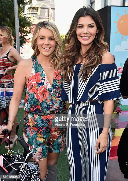 TV personality Ali Fedotowsky and actress Ali Landry attend the Step2 Favoredby Present The 5th Annual Red Carpet Safety Awareness Event at Sony...