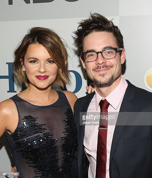 Personality Ali Fedotowsky and Guest attend Universal NBC Focus Features and E Entertainment 2015 Golden Globe Awards After Party sponsored by...