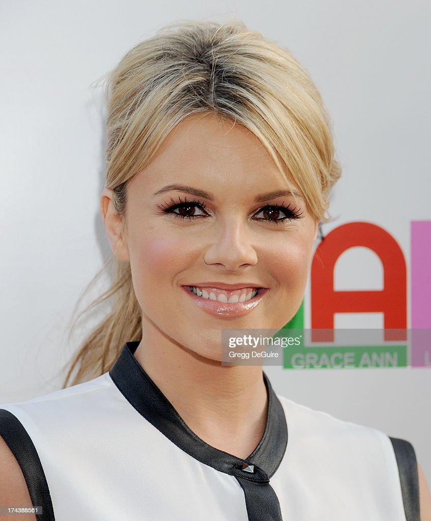TV personality <a gi-track='captionPersonalityLinkClicked' href=/galleries/search?phrase=Ali+Fedotowsky&family=editorial&specificpeople=6799459 ng-click='$event.stopPropagation()'>Ali Fedotowsky</a> arrives at the Los Angeles premiere of 'Blue Jasmine' at the Academy of Motion Picture Arts and Sciences on July 24, 2013 in Beverly Hills, California.