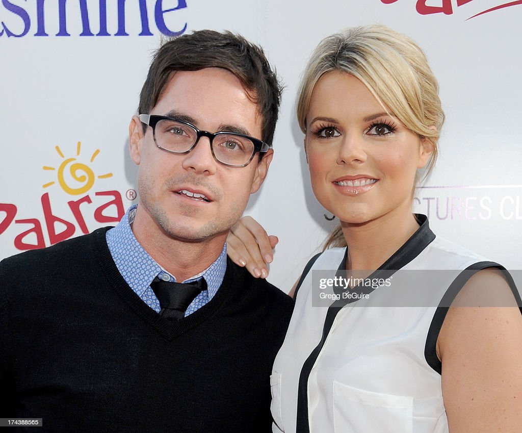 TV personality Ali Fedotowsky arrives at the Los Angeles premiere of 'Blue Jasmine' at the Academy of Motion Picture Arts and Sciences on July 24, 2013 in Beverly Hills, California.
