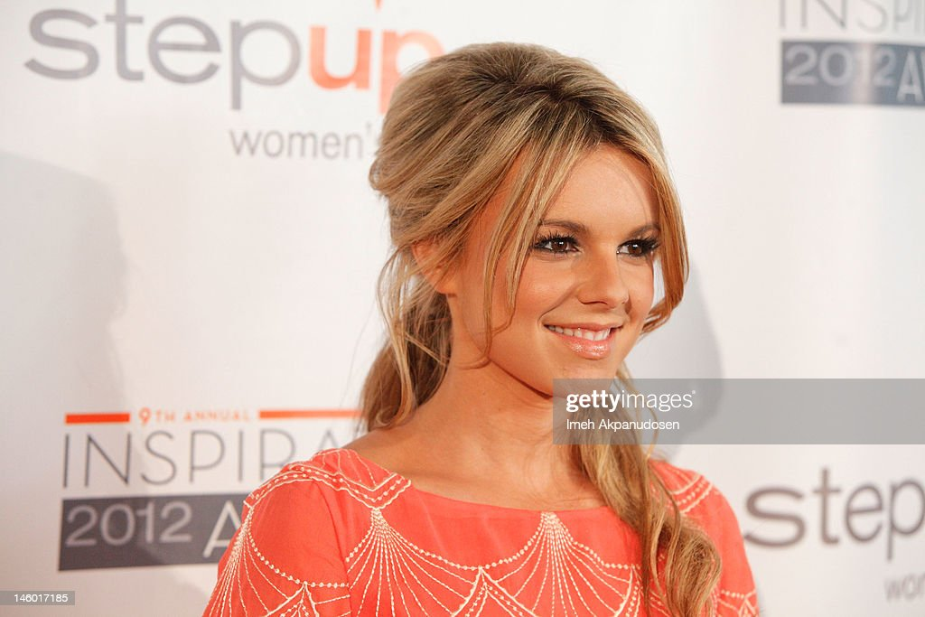 TV personality Ali Fedotowsky attends Step Up Women's Networks' 9th Annual Inspiration Awards at The Beverly Hilton Hotel on June 8, 2012 in Beverly Hills, California.