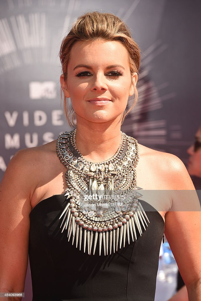TV personality Ali Fedotowsky attends the 2014 MTV Video Music Awards at The Forum on August 24 2014 in Inglewood California