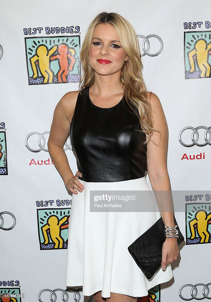 TV Personality Ali Fedotowsky attends the Best Buddies celebrity poker charity event at Audi Beverly Hills on August 22, 2013 in Beverly Hills, California.