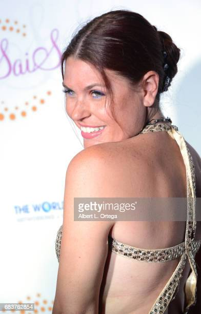 Personality Ali Levine at Sai Suman's Official Hollywood Runway Fashion Show held at Sofitel Hotel on April 11 2017 in Los Angeles California