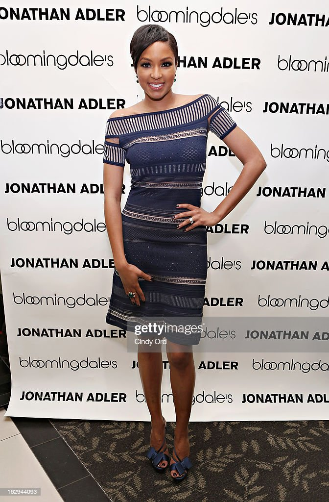 TV personality Alicia Quarles attends as Bloomingdale's 59th Street welcomes Jonathan Adler for the launch of the Jonathan Adler Accessories Collection at Bloomingdale's 59th Street Store on March 1, 2013 in New York City.