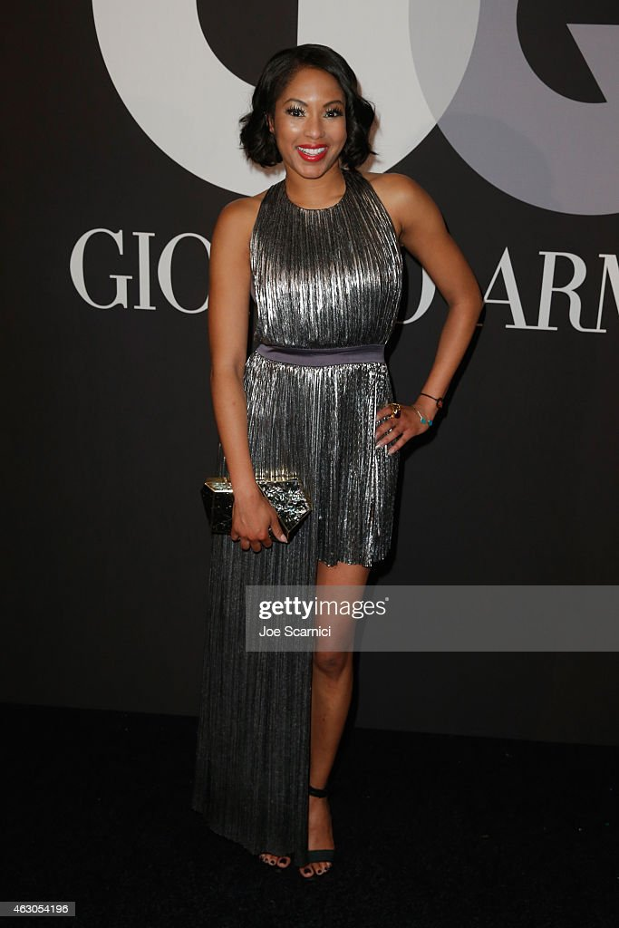 TV personality Alicia Quarles attends GQ and Giorgio Armani Grammys After Party at Hollywood Athletic Club on February 8, 2015 in Hollywood, California.