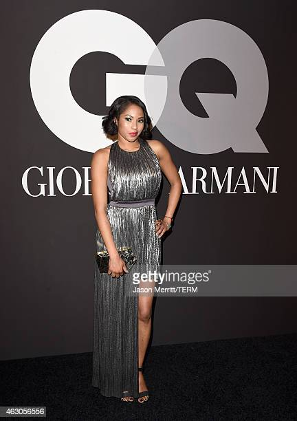 TV personality Alicia Quarles attends GQ and Giorgio Armani Grammys After Party at Hollywood Athletic Club on February 8 2015 in Hollywood California