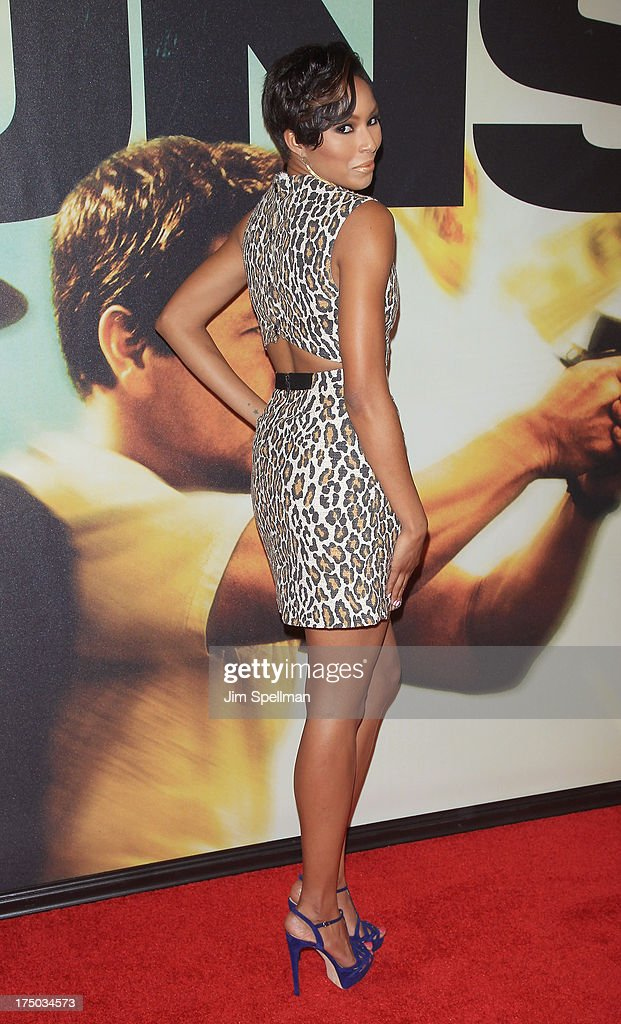 TV Personality Alicia Quarles attends the '2 Guns' New York Premiere at SVA Theater on July 29, 2013 in New York City.