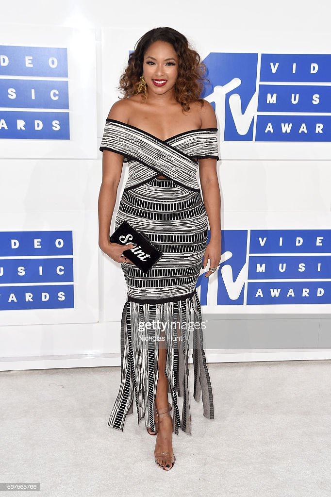 TV personality Alicia Quarles attends the 2016 MTV Video Music Awards at Madison Square Garden on August 28 2016 in New York City