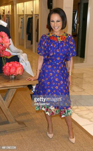 TV personality Alina Cho attends Plum Skye's 'Party Girls Die In Pearls' book launch celebration at Brooks Brothers on May 9 2017 in New York City