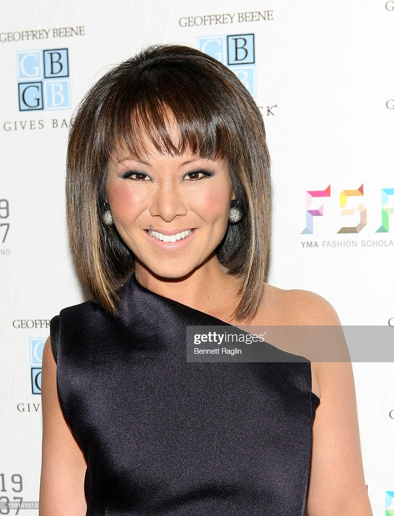 TV personality Alina Cho attends the 2013 YMA Fashion Scholarship Fund Geoffrey Beene Awards Dinner at The Waldorf=Astoria on January 8, 2013 in New York City.