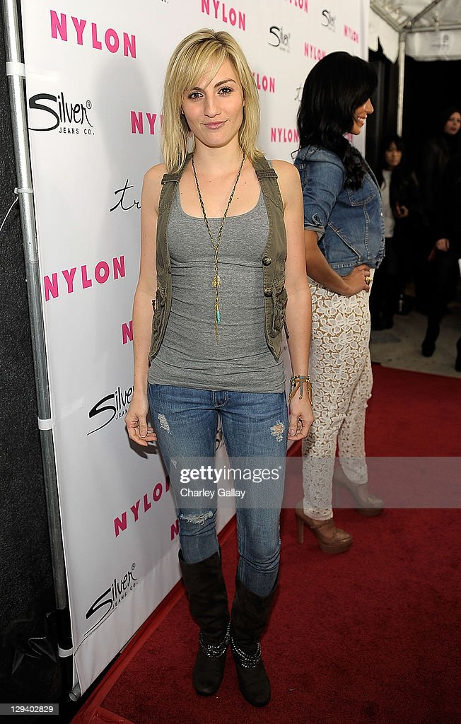 NYLON 12th Anniversary Celebration Hosted By The Stars Of Sucker Punch And Presented By Silver Jean Co. At Tru Hollywood - Red Carpet