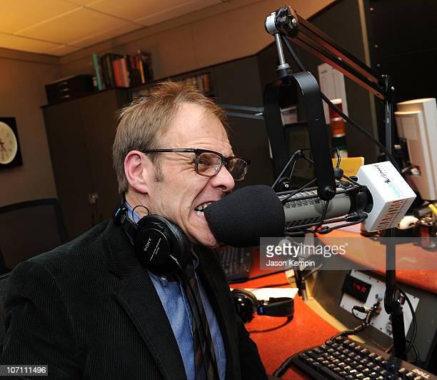 TV personality Alton Brown visits SIRIUS XM Studio on November 24 2010 in New York City