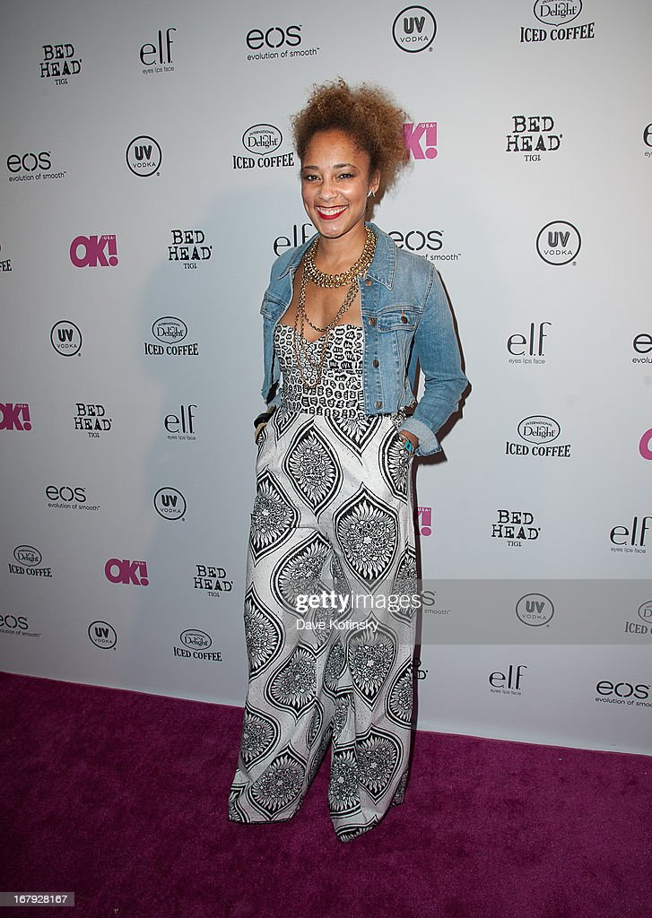 TV personality Amanda Seals attends OK! Magazine 'So Sexy' Party at Marquee on May 1, 2013 in New York City.