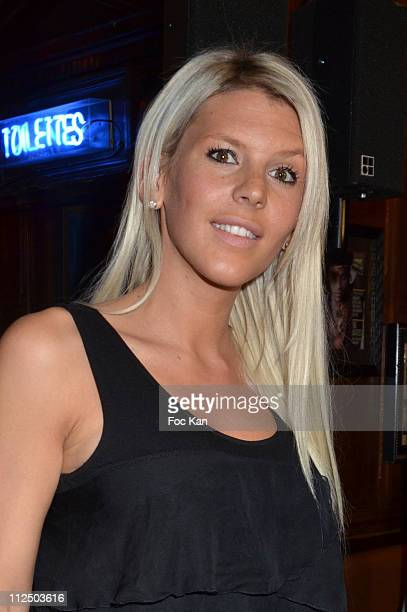 TV personality Amelie Neten 'from Secret Story 4' attends 'Les Anges de la Tele Realite' Launch Party at Hard Rock Cafe on February 9 2011 in Paris...