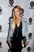 TV personality Amina Buddafly attends the 2014 Annual PreGrammy Celebration for RB Divas Grammy nomination and celebrity publicist Lynn Jeter's...