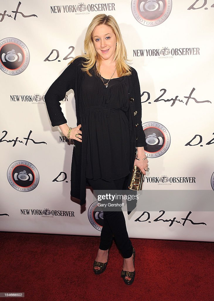 TV personality Amy Poliakoff attends the Artist Domingo Zapata VIP Art Reception at The Bowery Hotel on October 24, 2012 in New York City.