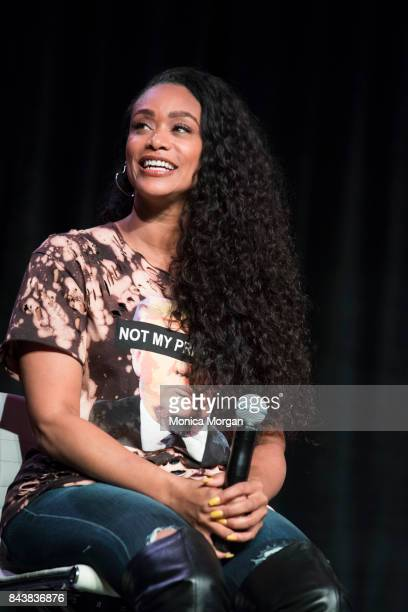 Personality and Actress Tami Roman during the 2017 Women's Empowerment Expo at Cobo Center on August 26 2017 in Detroit Michigan