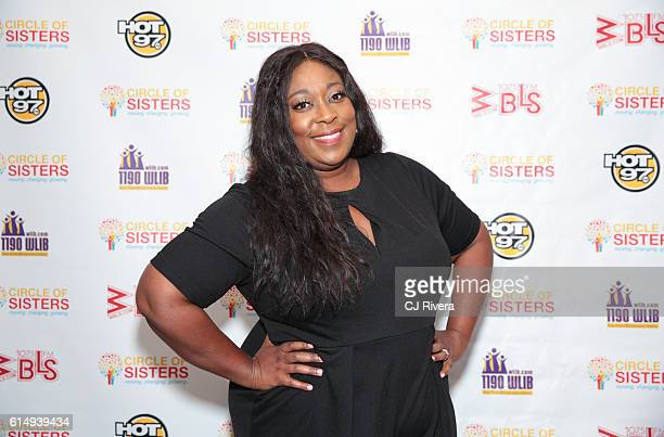 TV personality and comedian Loni Love attends the '2016 Circle of Sisters' at Jacob Javits Center on October 15 2016 in New York City
