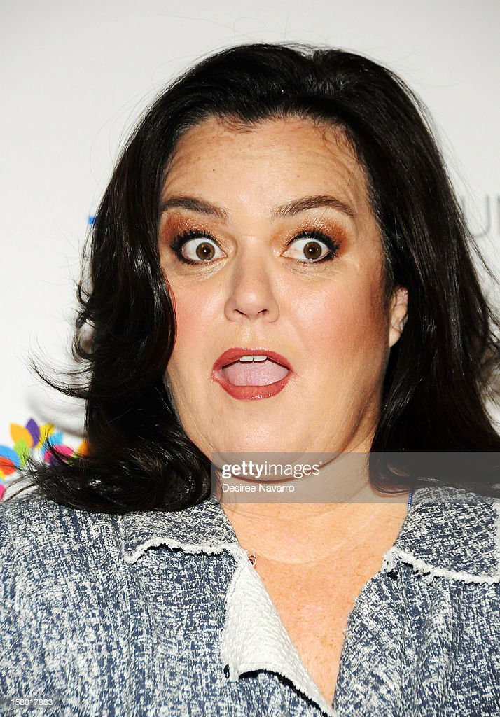 TV Personality and comedian Rosie O'Donnell attends the 2nd annual Cyndi Lauper and Friends: Home For The Holidays at The Beacon Theatre on December 8, 2012 in New York City.