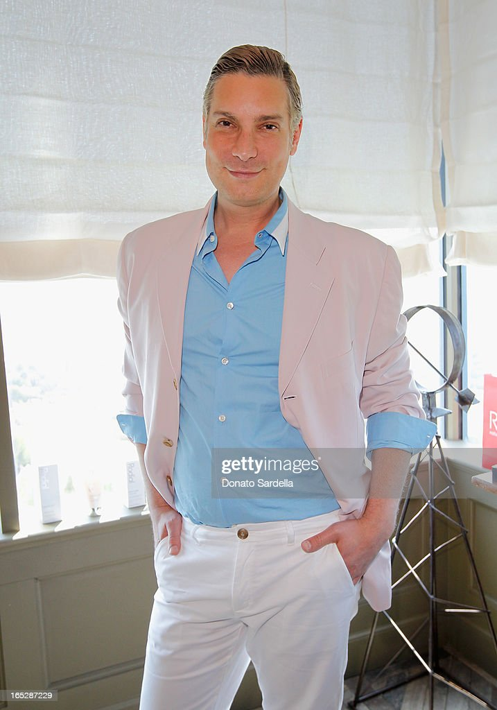TV personality and Co-Owner of Decades Cameron Silver attends the Rodial 10th Anniversary Luncheon on April 2, 2013 in West Hollywood, California.
