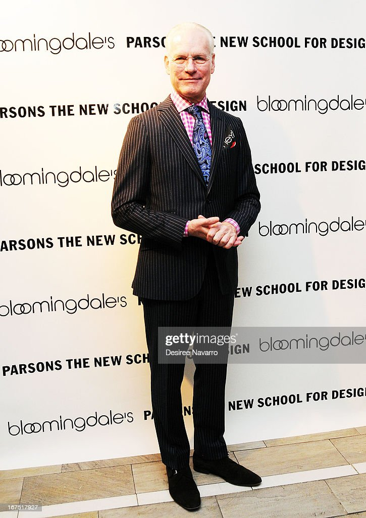 TV Personality and fashion consultant <a gi-track='captionPersonalityLinkClicked' href=/galleries/search?phrase=Tim+Gunn&family=editorial&specificpeople=696109 ng-click='$event.stopPropagation()'>Tim Gunn</a> attends Bloomingdale's: b the next at Bloomingdale's on April 25, 2013 in New York City.