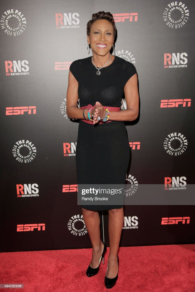 TV personality and former ESPN anchor Robin Roberts attends the The Paley Center for Media 2014 Spring Benefit Dinner at 583 Park Avenue on May 28...