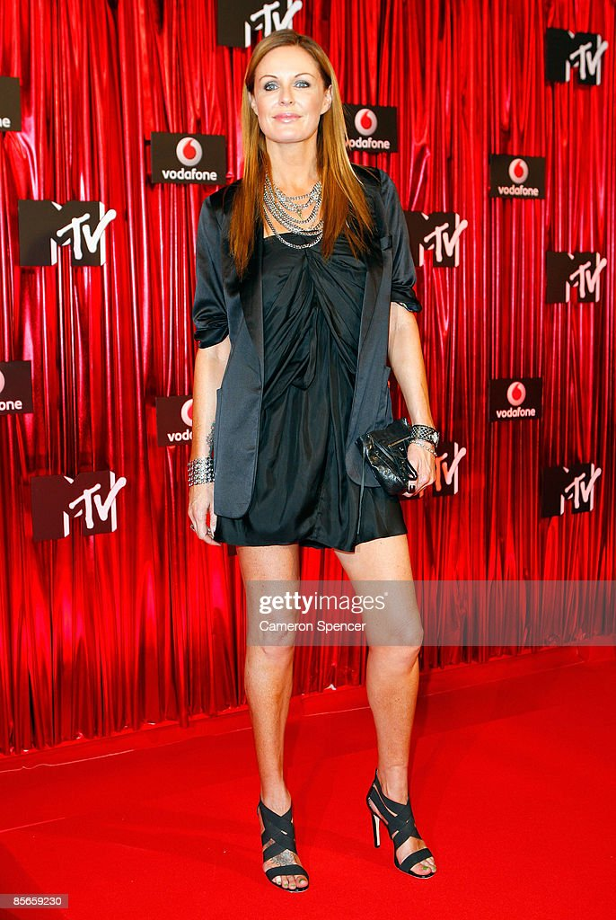 TV personality and former model Charlotte Dawson arrives at the Vodafone MTV Australia Awards 2009 at the Sydney Convention and Exhibition Centre...