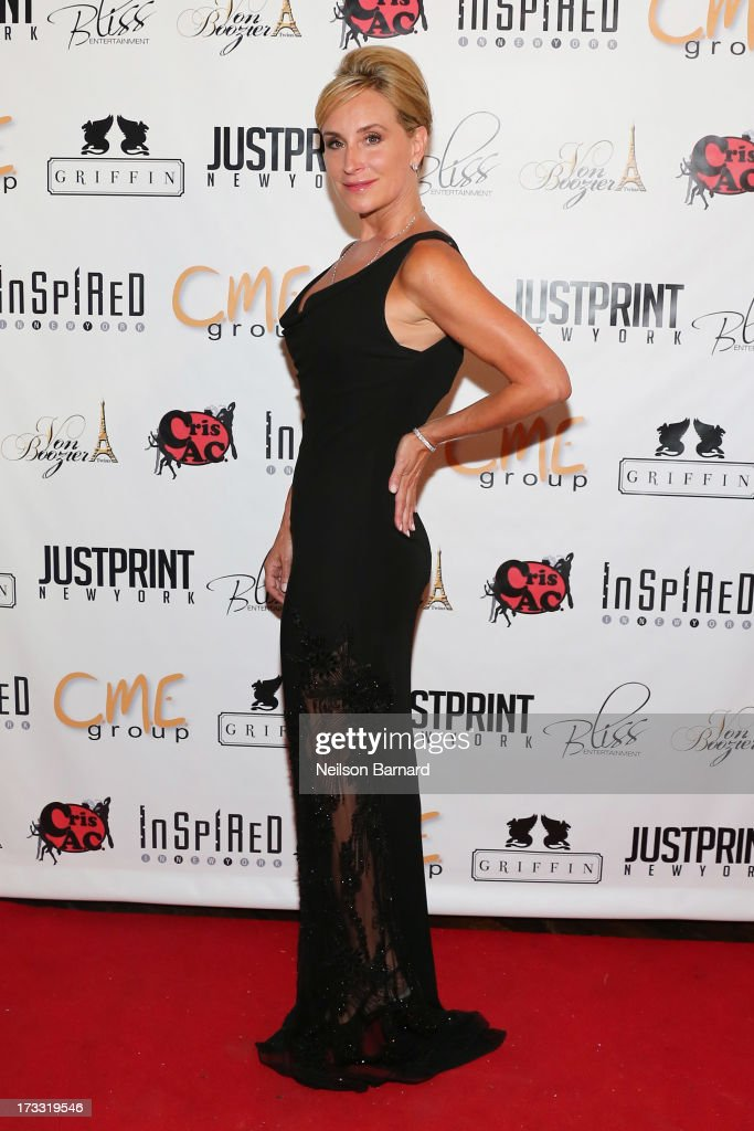 TV personality and honoree Sonja TremontMorgan attends the 'Inspired In New York' Event on July 11 2013 in New York United States