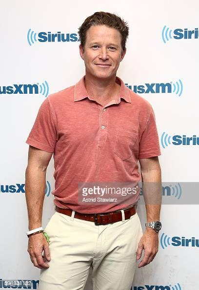 TV personality and NBC's 'Today' show coanchor Billy Bush visits the SiriusXM Studios on August 22 2016 in New York City
