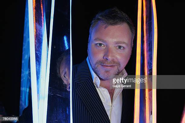 TV personality and radio host Kyle Sandilands attends Network Ten's 2008 Program Launch at the Hordern Pavillion on November 20 2007 in Sydney...