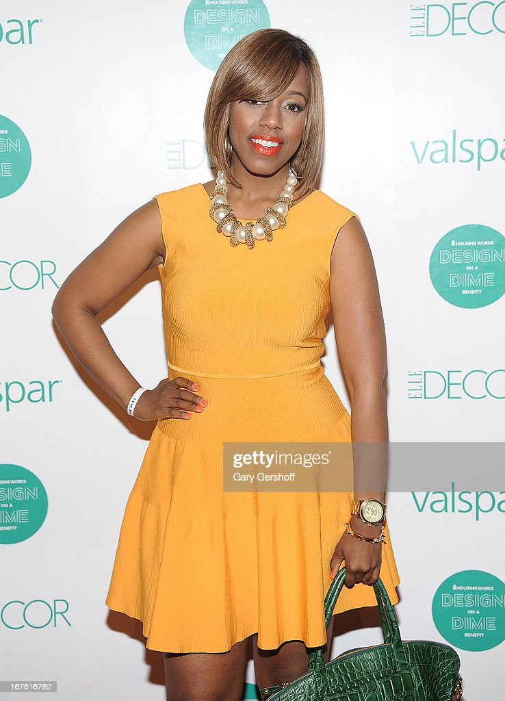 TV personality and style expert Daisy Llewellyn attends Housing Works 9th Annual Design On A Dime Benefit at Metropolitan Pavilion on April 25, 2013 in New York City.