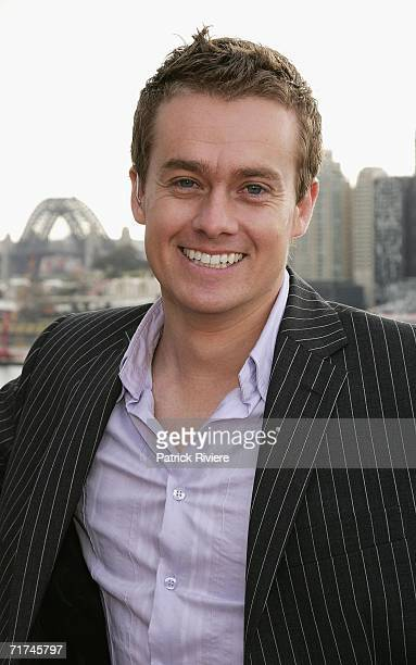 TV personality and weatherman Grant Denyer attends Seven's Breakfast with the Stars launching the TV channel's TV Turns 50 show at Star City on...