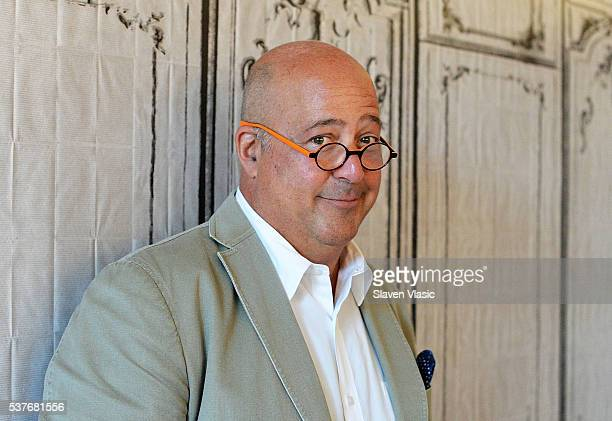 TV personality Andrew Zimmern visits AOL Build to discuss his Travel Channel show ÒBizarre FoodsÓ at AOL Studios In New York on June 2 2016 in New...