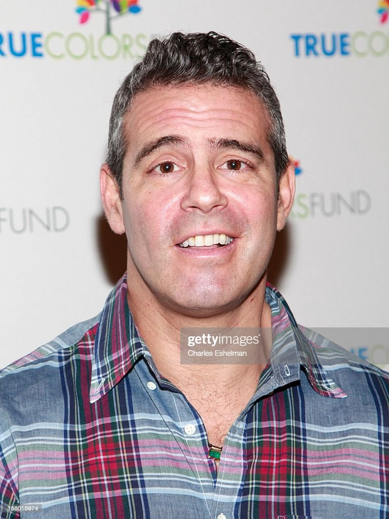 TV personality Andy Cohen at The Beacon Theatre on December 8, 2012 in New York City.