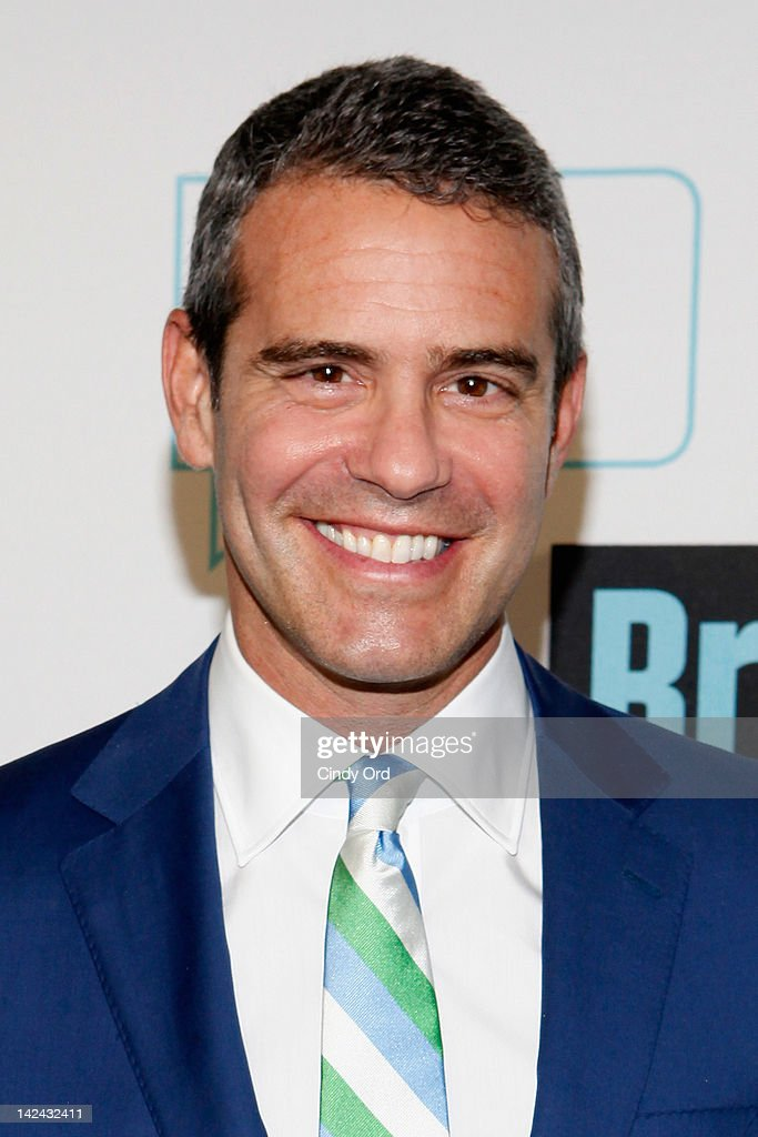 TV personality Andy Cohen attends the Bravo Upfront 2012 at Center 548 on April 4, 2012 in New York City.