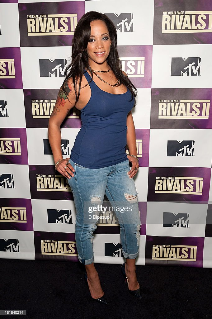TV personality Aneesa Ferreira attends MTV's 'The Challenge: Rivals II' Final Episode and Reunion Party at Chelsea Studio on September 25, 2013 in New York City.