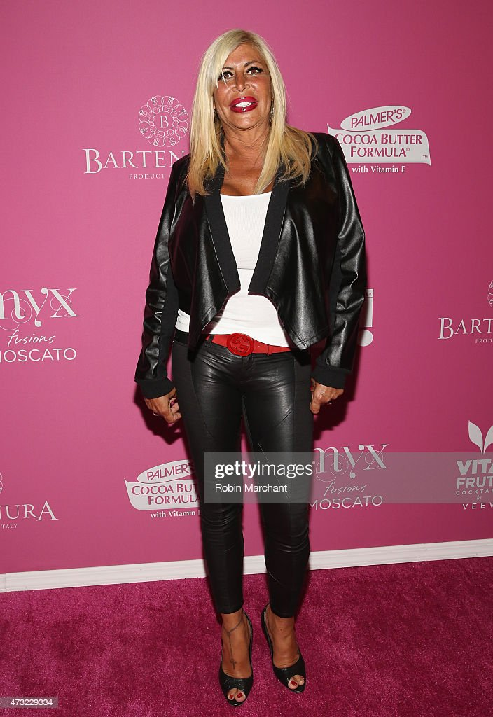 Personality Angela 'Big Ang' Raiola attends OK Magazine's So Sexy NYC Event at HAUS Nightclub on May 13 2015 in New York City