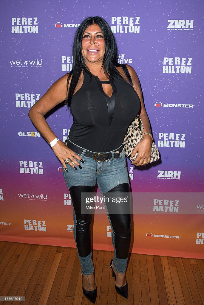 TV Personality Angela 'Big Ang' Raiola attends Perez Hilton's One Night In Brooklyn at Music Hall of Williamsburg on August 24, 2013 in New York City.