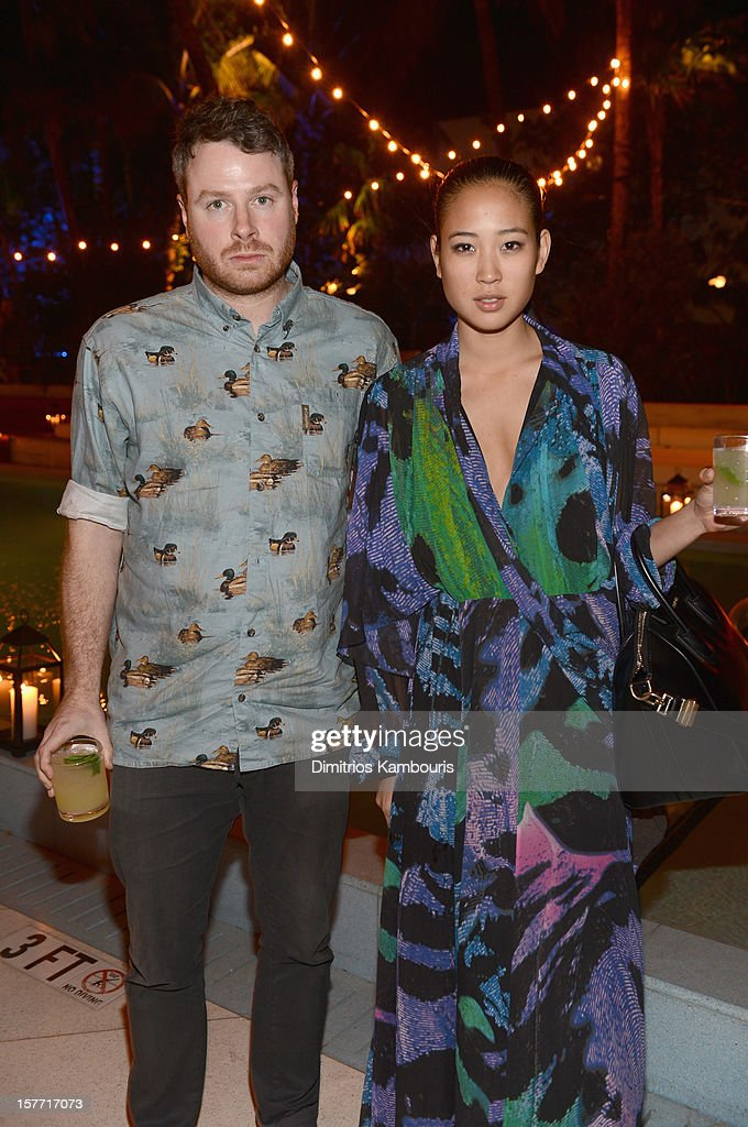 TV personality Angela Pham attends a dinner and auction hosted by CHANEL to benefit the Henry Street Settlement at Soho Beach House on December 5, 2012 in Miami Beach, Florida.