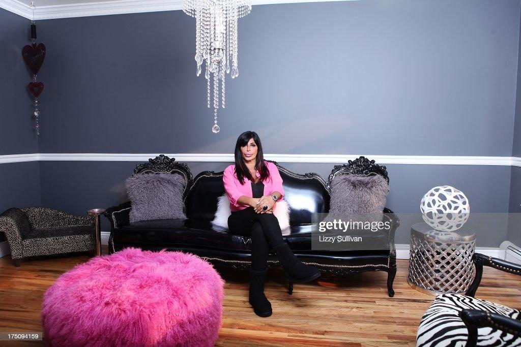 TV Personality Angela Raiola Aka Big Ang Poses For A Portrait At Her House