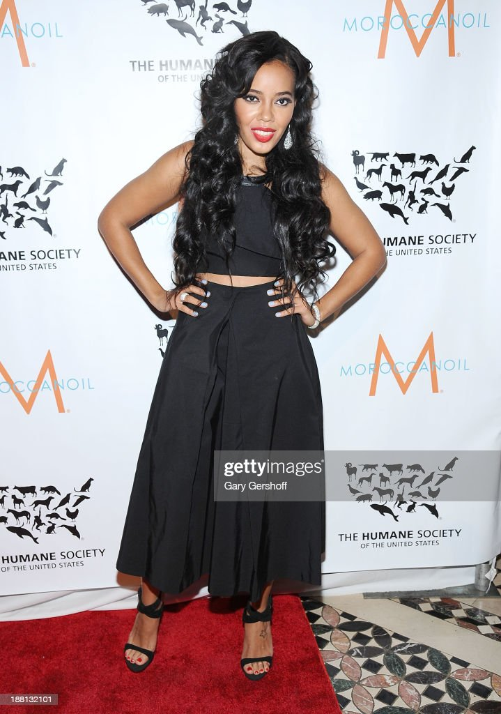 TV personality <a gi-track='captionPersonalityLinkClicked' href=/galleries/search?phrase=Angela+Simmons&family=editorial&specificpeople=653461 ng-click='$event.stopPropagation()'>Angela Simmons</a> attends