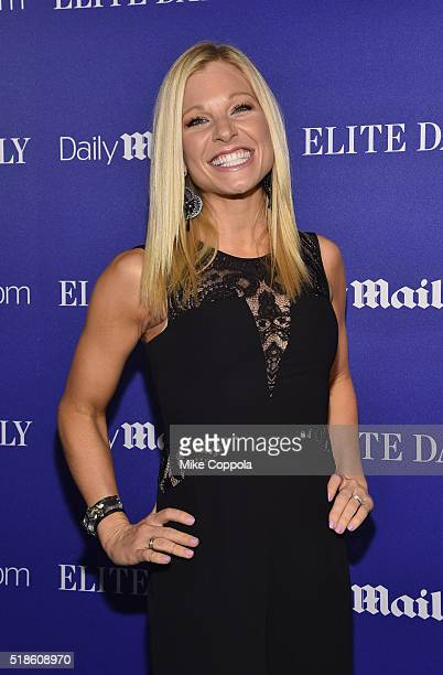 Personality Anna Kooiman attends DailyMailcom presents DNCE on March 31 2016 at The Cutting Room in New York City
