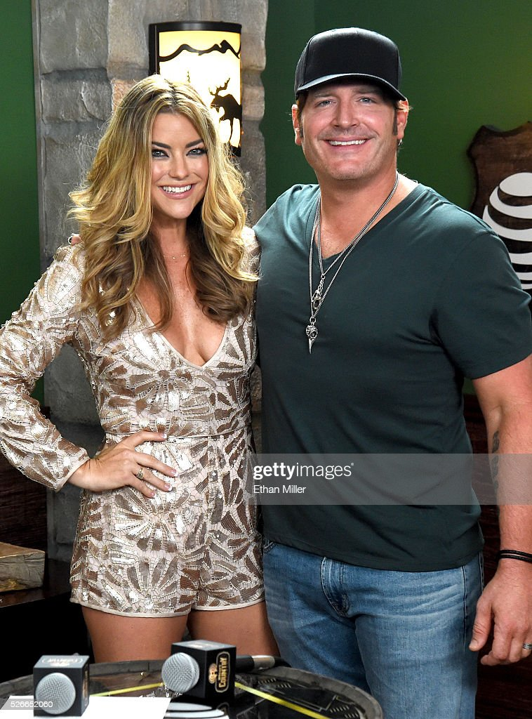 TV personality Anne Hudson (L) and musician Jerrod Niemann attend the 2016 iHeartCountry Festival at The Frank Erwin Center on April 30, 2016 in Austin, Texas.