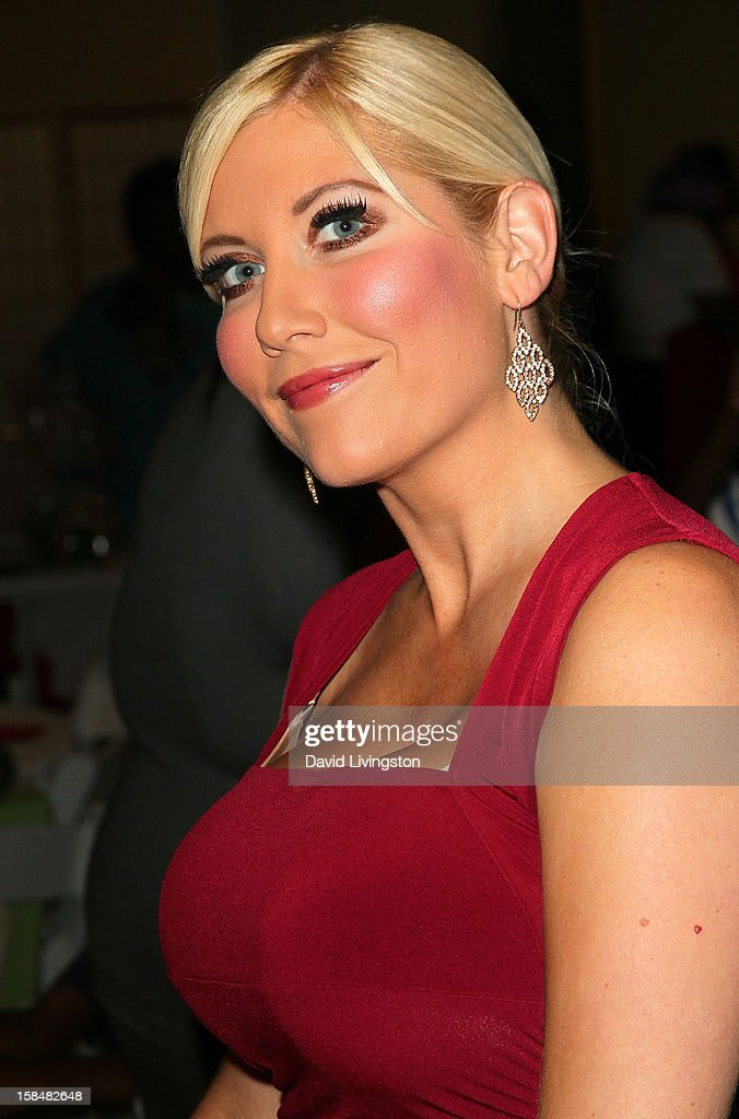TV personality Ariane Bellamar attends the Working Dreams and Families For Children annual holiday season event at the Marriott Courtyard on December 17, 2012 in Culver City, California.