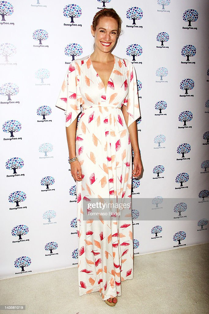 TV personality Ashlan Gorse attends the Nancy's Garden Party Fundraiser held at te Miauhaus Studios on April 29, 2012 in Los Angeles, California.